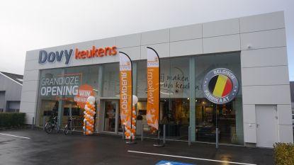 Dovy Keukens opent nieuwe toonzaal in Oostende, de 27ste al in België
