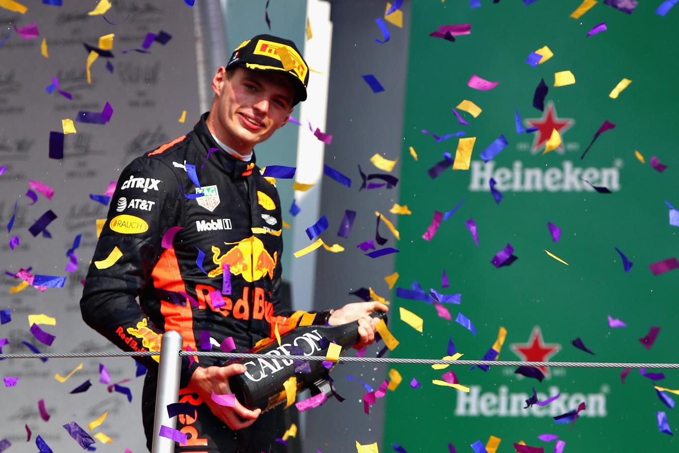 Max Verstappen in Mexico vorig jaar.