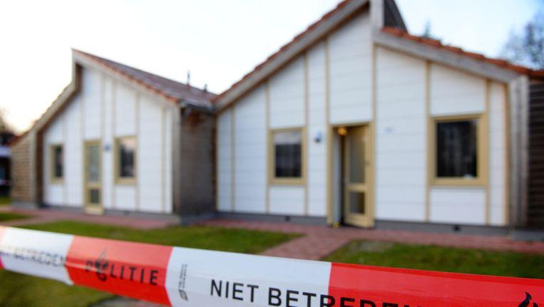 In een asielzoekerscentrum in Dronten raakten op tweede kerstdag drie leden uit één gezin zwaargewond bij een steekpartij. Beeld anp