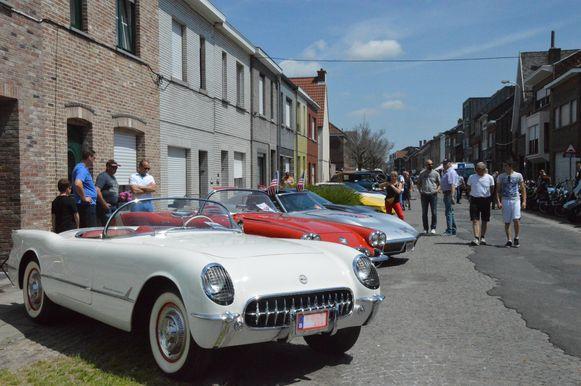 Sfeerbeeld van één van de vorige edities van de All American Day in Ninove.