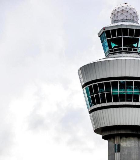 Vliegverkeer Schiphol korte tijd plat door storing