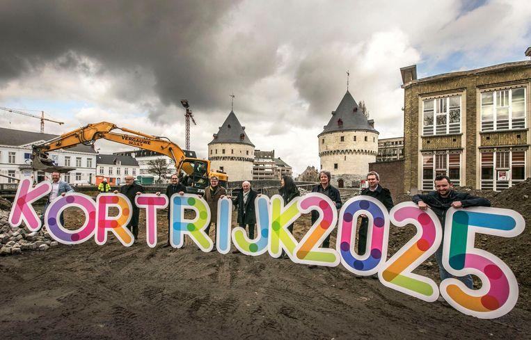 Kortrijk verandert ingrijpend tegen 2025. Zo starten er deze maand zeven grote werven.