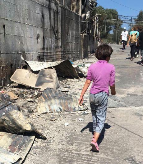 Oosterbeekse psychologe Gea Dunnik bivakkeert in 'oorlogsgebied' op Lesbos