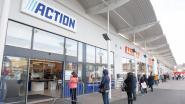 Ellenlange file aan Action-winkel in Oudenaarde: plastic handschoenen, verf en decoratiemateriaal zijn het wachten waard