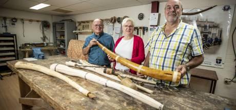 Springlevende Oldenzaalse traditie: 'Een hoorn, leren blazen en dan straat op'