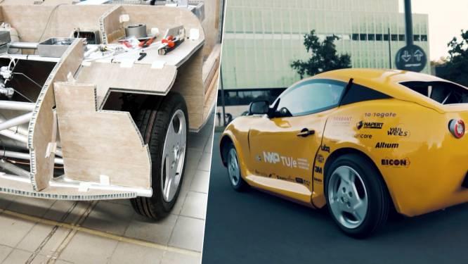Kijk hoe studenten elektrische sportwagen maken uit afval