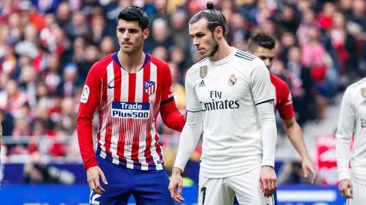 Álvaro Morata en Gareth Bale.