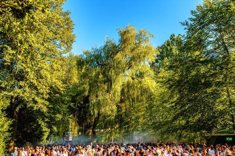 Dag drie in het Amsterdamse Bos.  Beeld Bart Heemskerk