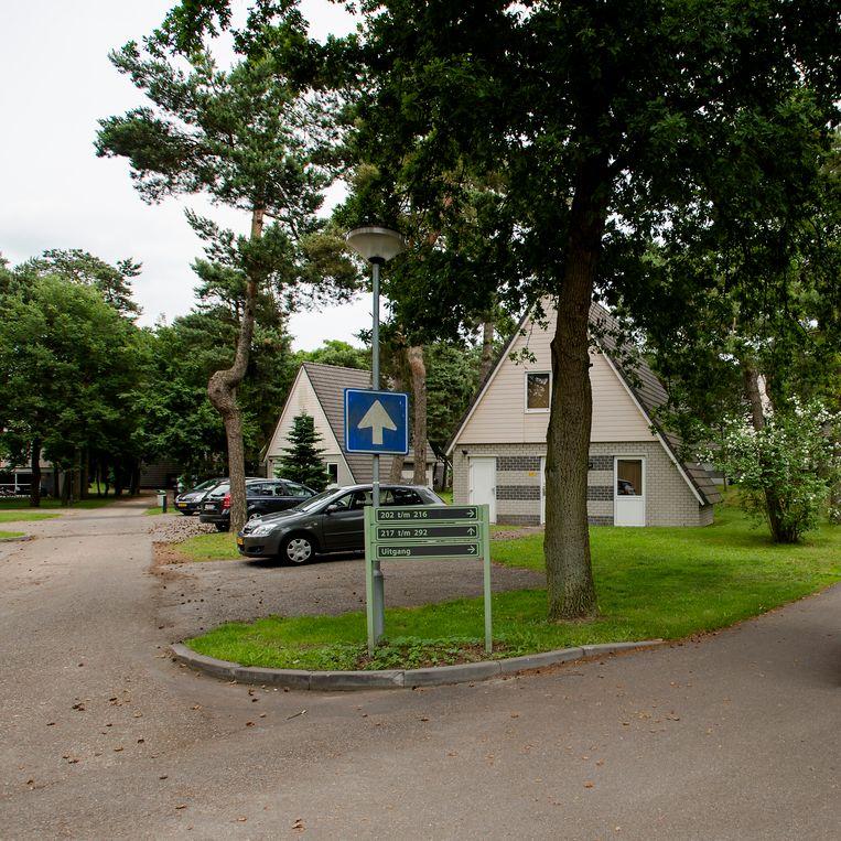 Recreatiepark De Katjeskelder in Oosterhout, de tweede woonlocatie van Widłaś. Beeld ANP