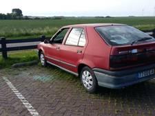 Autowrak aangetroffen op carpoolplaats bij Zierikzee