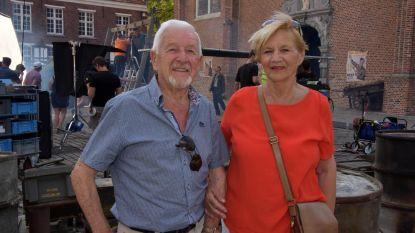 Filmfans stromen toe aan Begijnhof