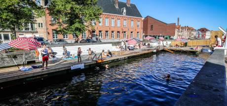 Brugge sluit zwemzone aan Coupure door blauwalgen