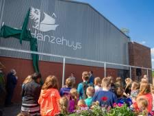 Dorpshuis Hanzehuys Maasbommel in zwaar weer