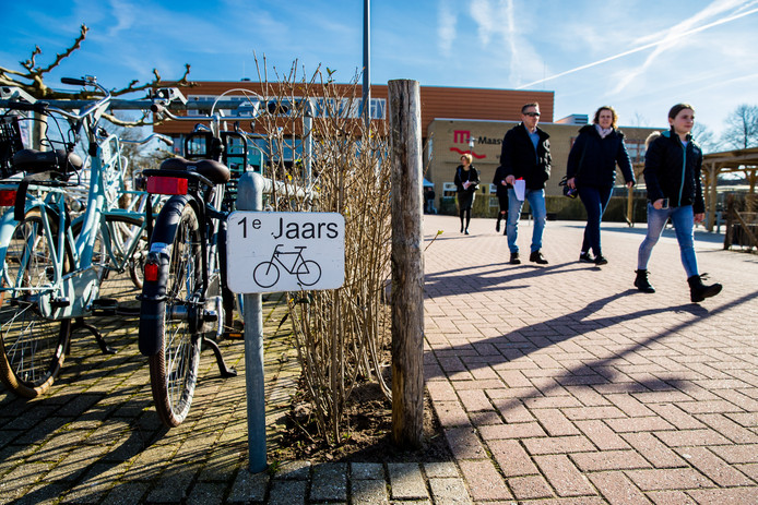 Open dag op het Maaswaal College in Wijchen.