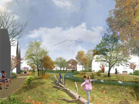 Bouwer maakt van Amstelwijck groene wandel- en fietswijk