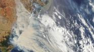 Rook van Australische bosbranden bereikt Zuid-Amerika