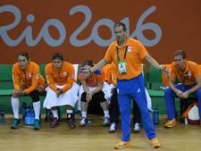 Jubilerend Olympia ontvangt oud-handbalbondscoach Henk Groener