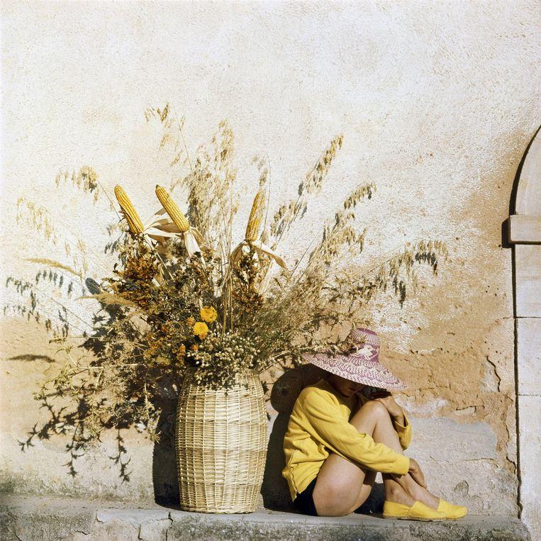 Florette, Piozzo, 1960 Beeld J. H. Lartigue, Ministère de la Culture - France /AAJHL
