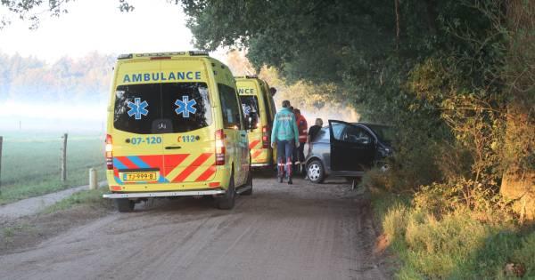 Twee gewonden bij ongeluk op zandweg bij Lunteren.
