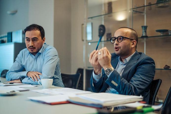 Les avocats Mohamed Ozdemir et Abderrahim Lahlali