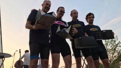 Eventbureau Mouflu-Sport is snelste bedrijf op mountainbike tijdens Ekopak Business Trophy