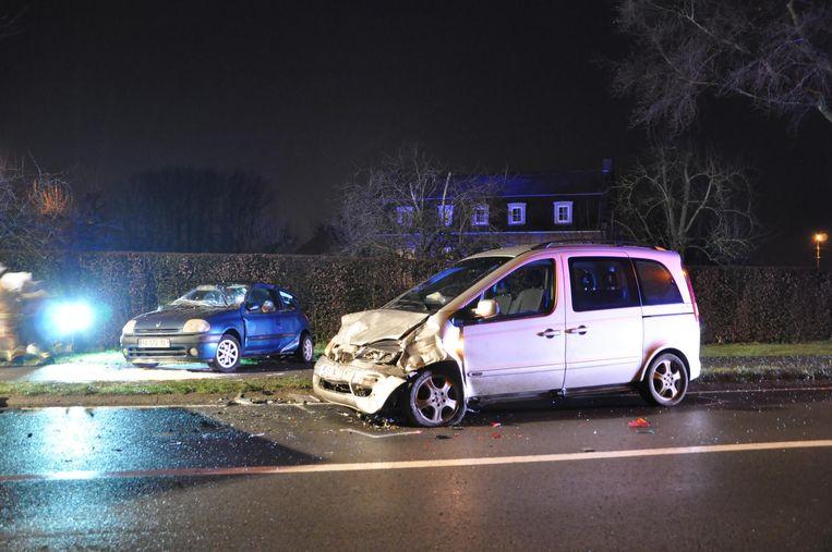 Een Franse vrouw raakte zwaargewond na een ongeval in de Nevelestraat.