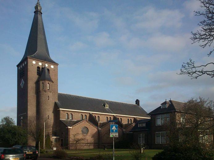 De rk-kerk St. Jan de Doper in Wierden