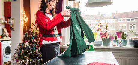 Kerst is voorbij, Riënne uit Arnhem zoekt foute kersttruien: 'Hoe fouter, hoe beter'