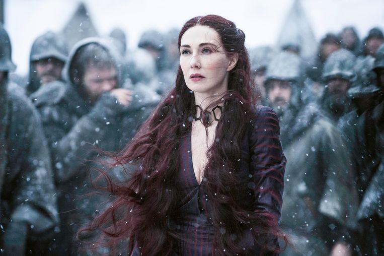 Carice van Houten als Melisandre in 'Game of Thrones'.