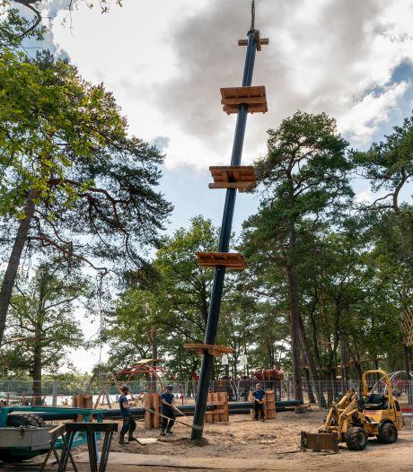 Vught start onderzoek: leidt klimbos IJzeren Man tot schade aan bomen?