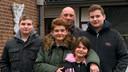 De familie Wees.