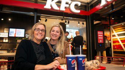 Stormloop blijft uit bij opening eerste KFC in Vlaanderen