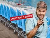 Dat winkelwagentje van Albert Heijn staat al ruim een jaar in hun tuin