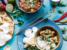 Wat Eten We Vandaag: Thaise kip in pindacurry
