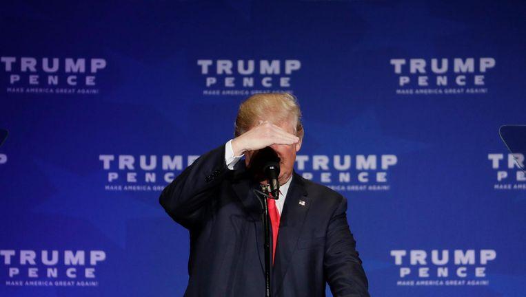 Donald Trump gaat tekeer tegen het neoliberalisme. Beeld ap