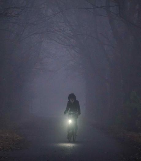 Heerlijk mistig avondje op Mariënwaerdt in Beesd