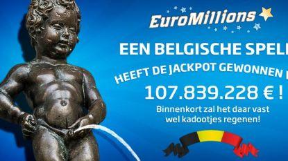 Belg wint 107 miljoen euro met Euromillions
