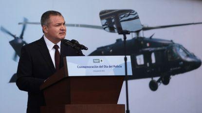 Oud-veiligheidsminister Mexico zelf opgepakt in VS, ontving koffers met miljoenen dollars van El Chapo