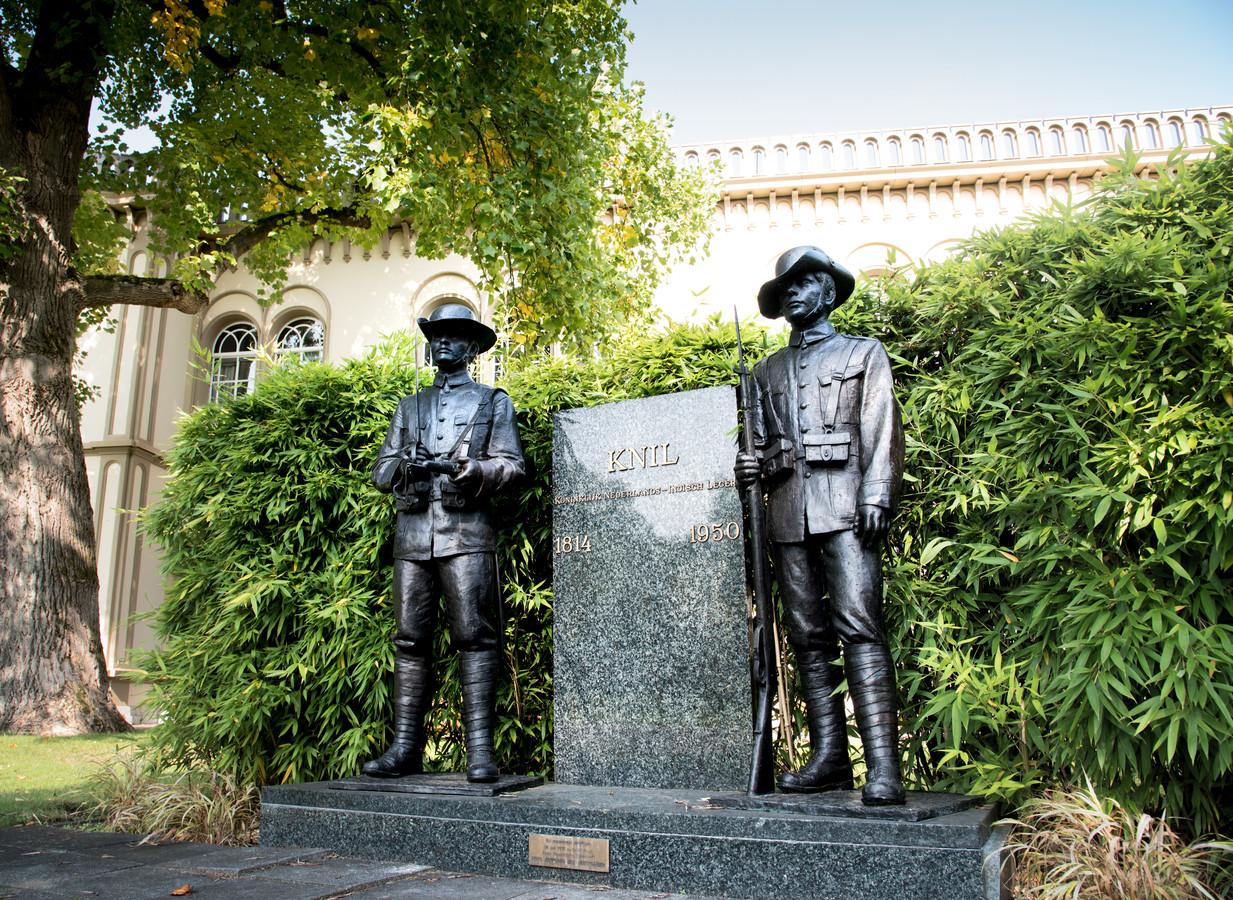 Monument ter nagedachtenis aan de KNIL.