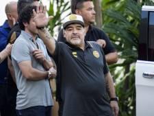 Maradona vanwege gezondheid weg bij Sinaloa