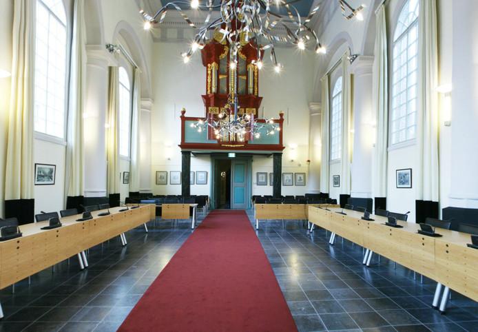 De vergaderlocatie van de Etten-Leurse politiek in de Van Goghkerk.