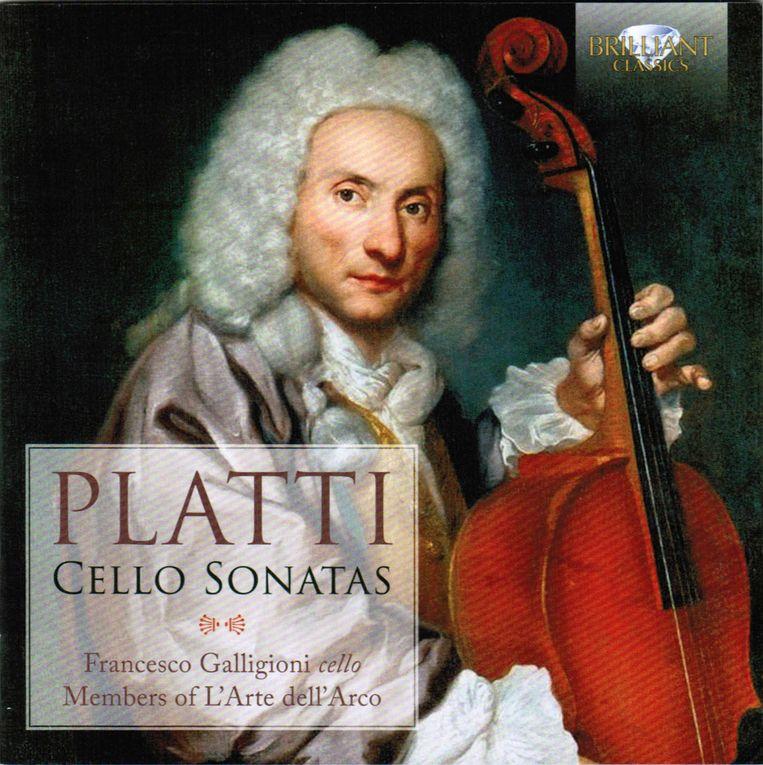 Francesco Galligioni - Platti: Cello sonatas Beeld null