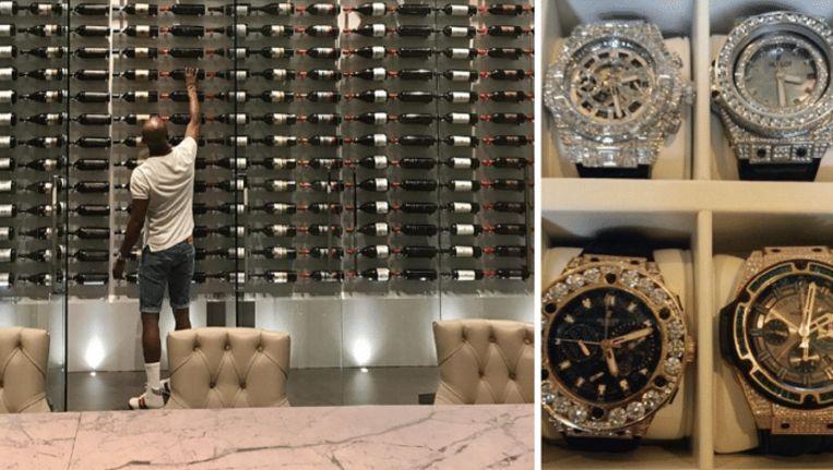 Blinkende horloges en een kolossale wijnkelder in stulpje van 21