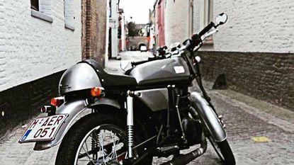 Dieven ervandoor met motorfiets