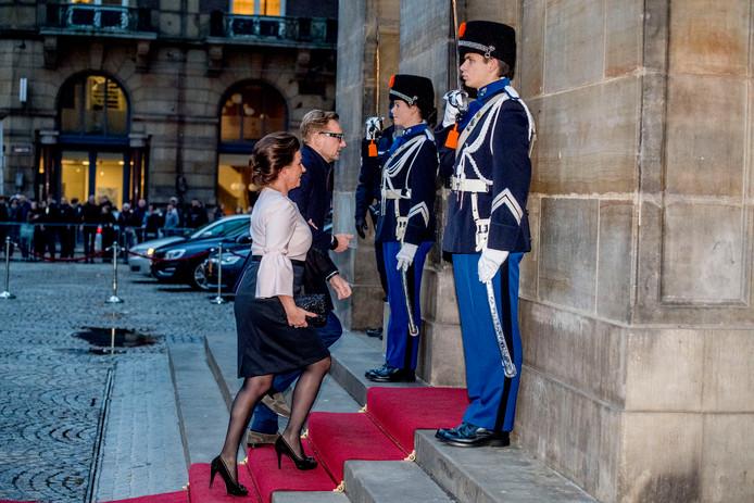 Prins Bernard en prinses Annette.