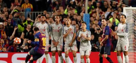 Messi's vrije trap tegen Liverpool verkozen tot mooiste Champions League-goal