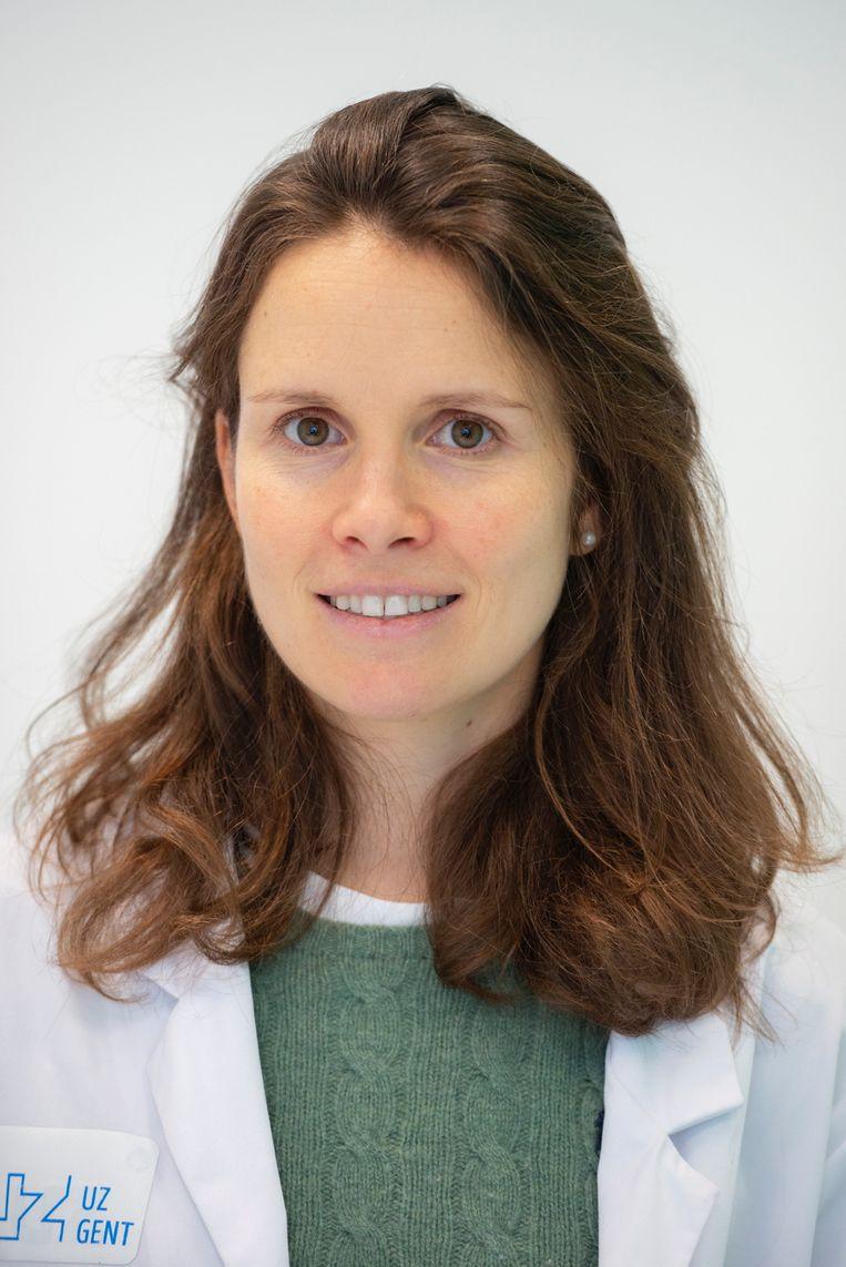 Infectioloog Marie-Angélique De Scheerder.