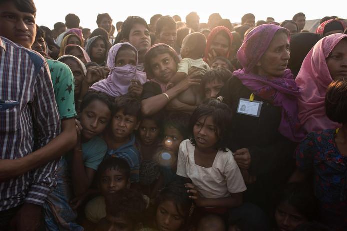 Veel kinderen in het kamp Kutupalong in Cox's Bazar zijn er slecht aan toe.