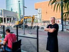 Uitbater La Borsa gek van drie jaar bouwen en breken om zijn trattoria