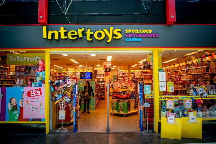 Intertoys heeft een lijst gepubliceerd met de filialen die gesloten worden